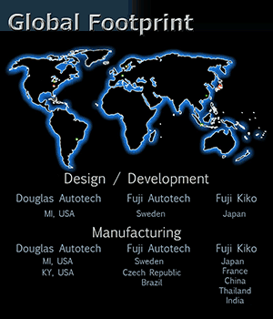 Autotech Global Footprint